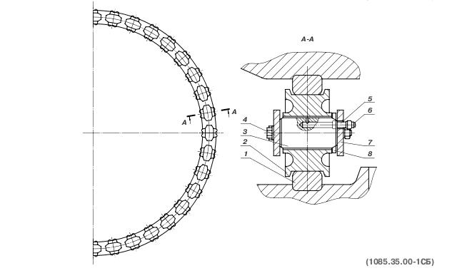 Круг роликовый